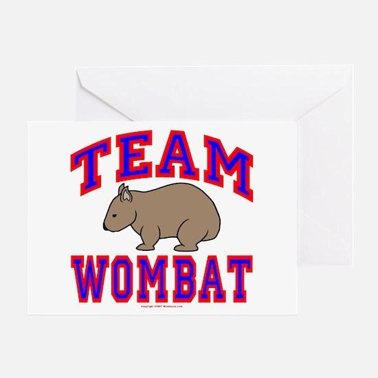 Team Wombat VI Greeting Card