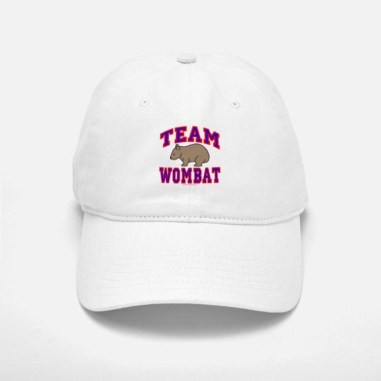 Team Wombat VI Baseball Baseball Cap