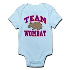 Team Wombat VI Infant Bodysuit