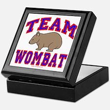 Team Wombat VI Keepsake Box