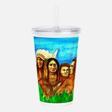 The Real Founding Fath Acrylic Double-wall Tumbler