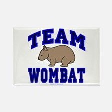 Team Wombat IV Rectangle Magnet