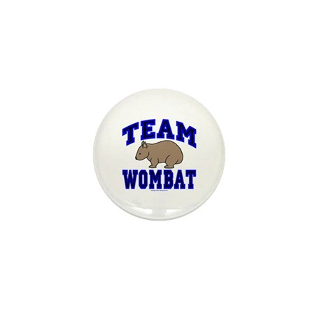 Team Wombat IV Mini Button (10 pack)