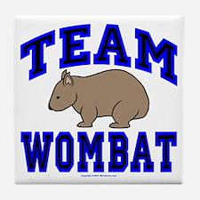 Team Wombat IV Tile Coaster