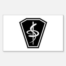 Medical Sticker (Rectangle)