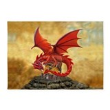 Dungeons dragons 5x7 Rugs