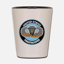 US Combat Paratrooper Shot Glass