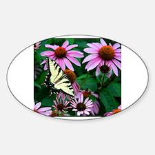 Unique Echinacea Sticker (Oval)