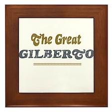 Gilberto Framed Tile