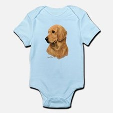 Golden Retriever Head 2 Body Suit