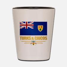Turks and Caicos Shot Glass
