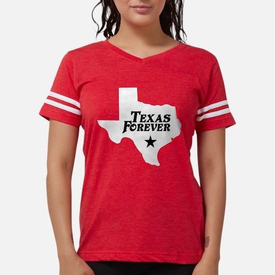state-texas-forever-star-white-black T-Shirt