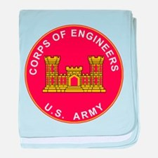 Army Corps Of Engineers baby blanket