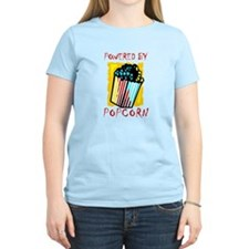 Powered By Popcorn T-Shirt
