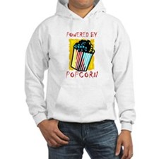 Powered By Popcorn Hoodie