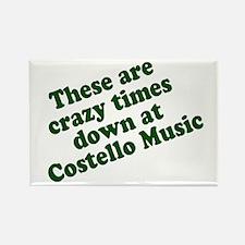 Costello Music Rectangle Fridge Magnet