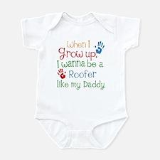Roofer Like Daddy Infant Bodysuit