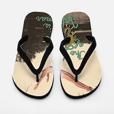 Cute Summer camp Flip Flops