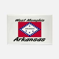 West Memphis Arkansas Rectangle Magnet