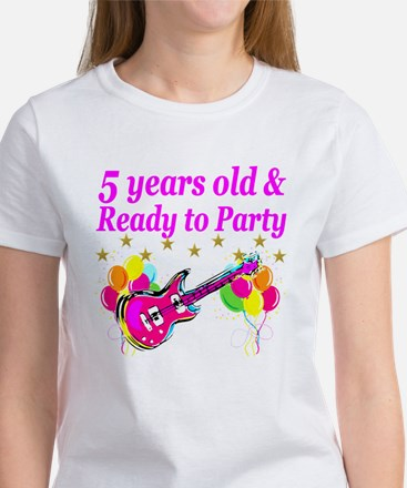 5TH BIRTHDAY Women's T-Shirt