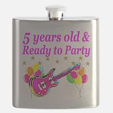 5TH BIRTHDAY Flask