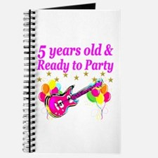 5TH BIRTHDAY Journal