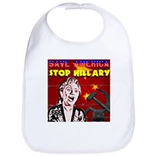 Stop Hillary! Bib