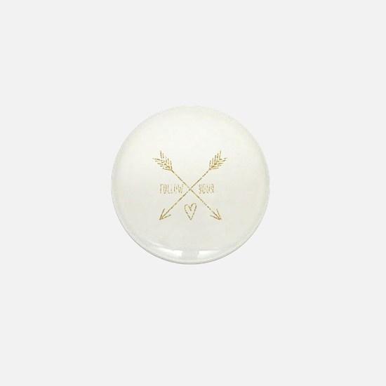 Cute Arrow Mini Button