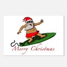 Santa Postcards (Package of 8)