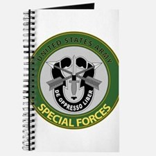 US Army Special Forces Emblem Journal