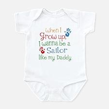 Sailor Like Daddy Infant Bodysuit