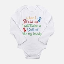 Sailor Like Daddy Long Sleeve Infant Bodysuit