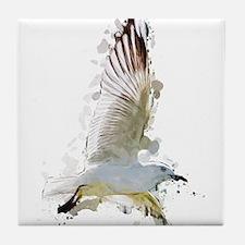 Flying Seagull Tile Coaster