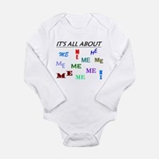 IT'S ALL ABOUT ME FUNNY Body Suit