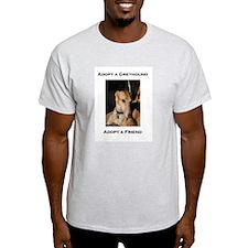 Adopt a Friend Ash Grey T-Shirt