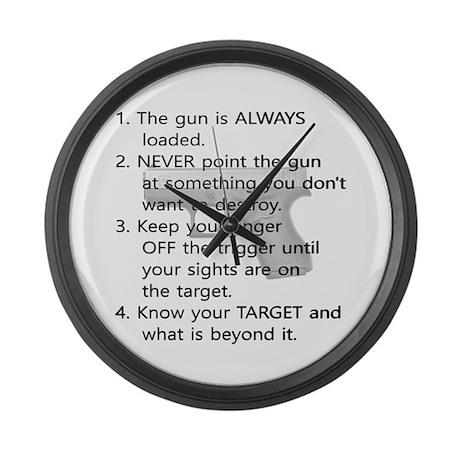 Gun Safe Clocks Gun Safe Wall Clocks Large Modern Kitchen Clocks