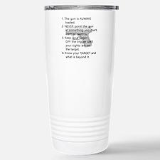 Rules of Gun Safety Travel Mug