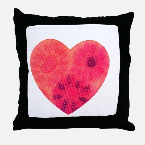 Cool Tye dye Throw Pillow