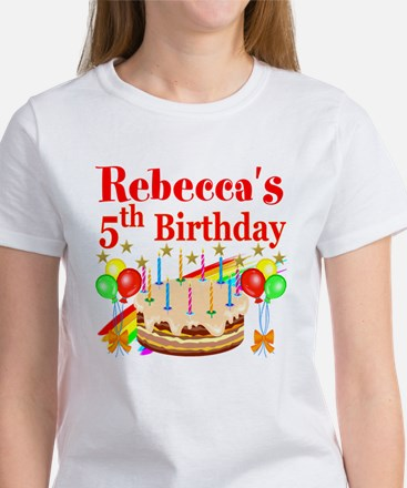 PERSONALIZED 5TH Women's T-Shirt