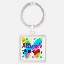 PERSONALIZED 5TH Square Keychain