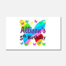 PERSONALIZED 5TH Car Magnet 20 x 12