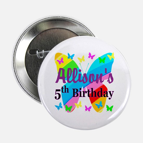 "PERSONALIZED 5TH 2.25"" Button"