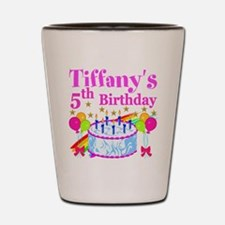 PERSONALIZED 5TH Shot Glass