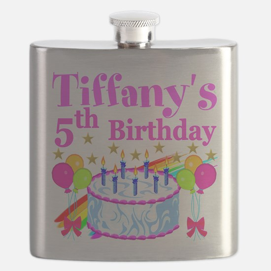 PERSONALIZED 5TH Flask