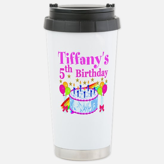 PERSONALIZED 5TH Stainless Steel Travel Mug