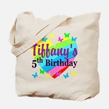 PERSONALIZED 5TH Tote Bag
