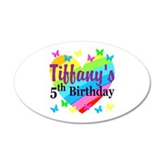 PERSONALIZED 5TH Wall Decal