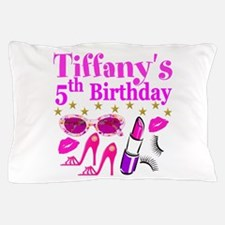 PERSONALIZED 5TH Pillow Case
