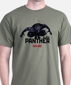 Black Panther Crouched T-Shirt