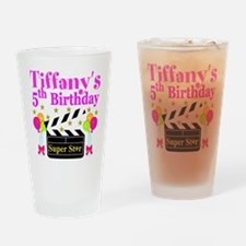 PERSONALIZED 5TH Drinking Glass
